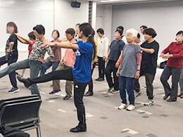 シニア向けダンス教室
